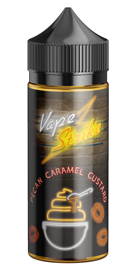 Vape Strike - Pecan Caramel Custard - Vapor in a Bottle