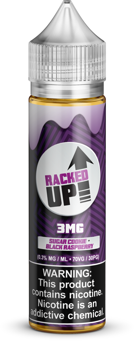 Stacked Up E-Liquids - Racked Up - Vapor in a Bottle