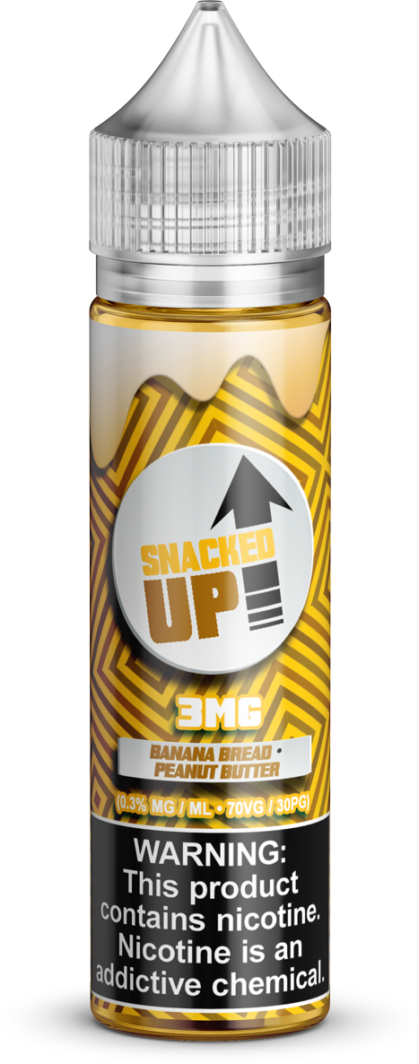 Stacked Up E-Liquids - Snacked Up - Vapor in a Bottle