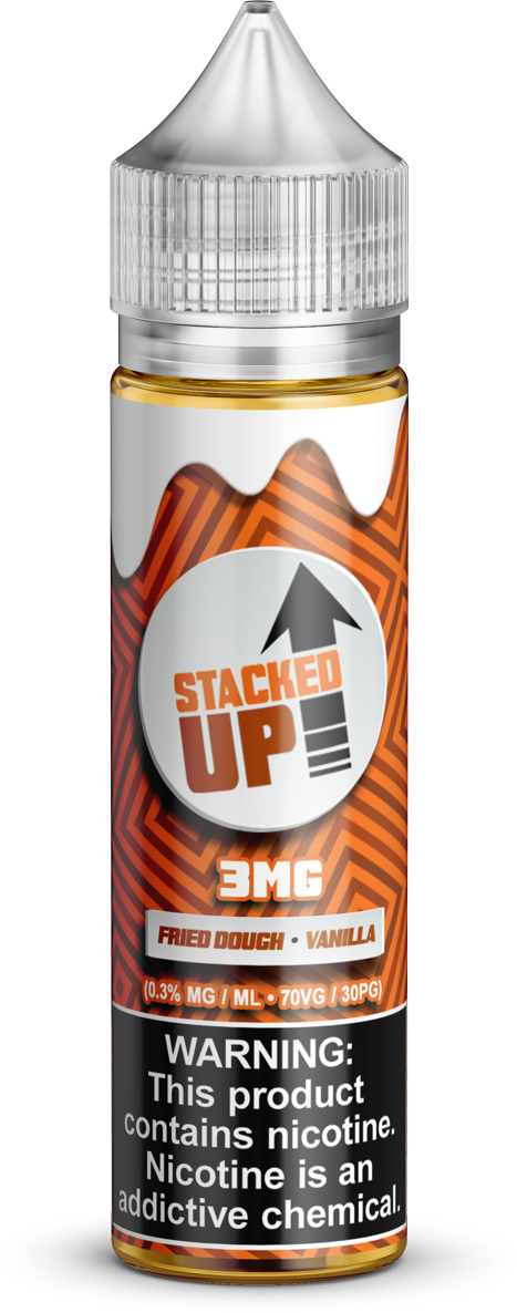 Stacked Up E-Liquids - Stacked Up - Vapor in a Bottle