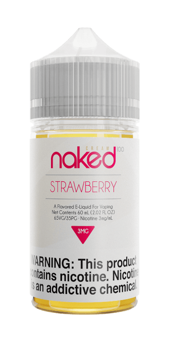 Naked 100 Cream - Strawberry (Naked Unicorn)
