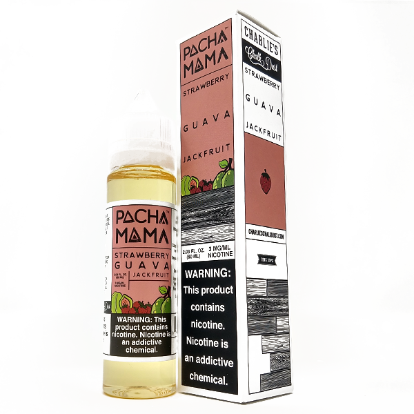 PachaMama - Strawberry Guava Jackfruit - Vapor in a Bottle
