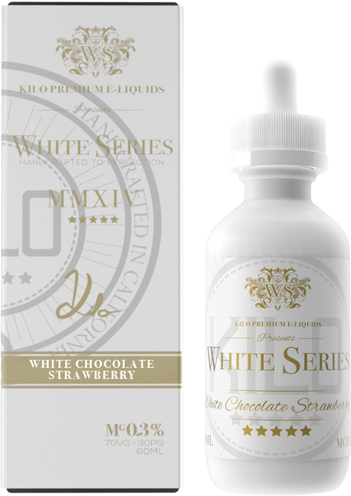 Kilo - White Series - White Chocolate Strawberry