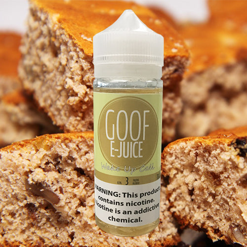 Goof E-Juice - Wake Up Call - Vapor in a Bottle
