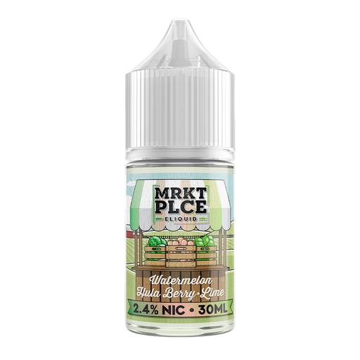 MRKT PLCE Salts - Watermelon Hulaberry Lime - Vapor in a Bottle