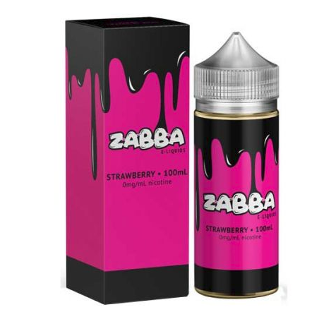 Zabba E-Liquid - Strawberry