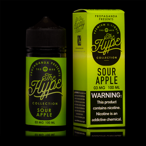 Propaganda - The Hype Collection - Sour Apple - Vapor in a Bottle