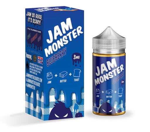 Jam Monster - Blueberry - Vapor in a Bottle