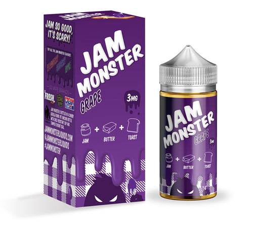 Jam Monster - Grape - Vapor in a Bottle
