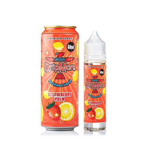 Drip More - Strawberry Palm - Vapor in a Bottle