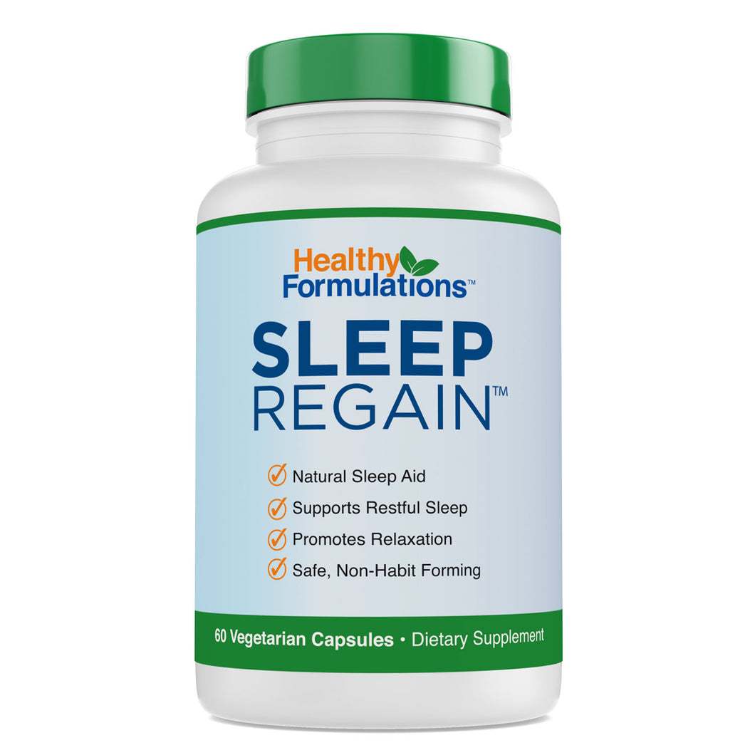 Sleep Regain Premium Sleep and Relaxation Health Supplement (1 month supply)