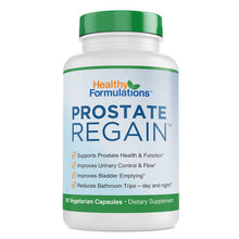 Prostate Regain Premium Prostate Health Supplement for Prostate Health and Improved Urine Flow (1 month supply)