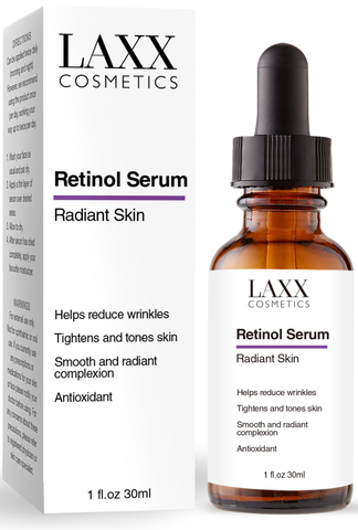 Powerful Retinol Face Serum with Hyaluronic Acid & Vitamin E, Anti Aging Retinol Serum for Wrinkles, Fine Lines & Sensitive Skin, Hydrate & Brighten your look! 100% Satisfaction - B07GNWXY1N