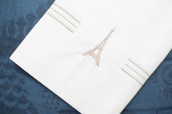Eiffel Tower Luxury King Pillow Cases (Set of 2)