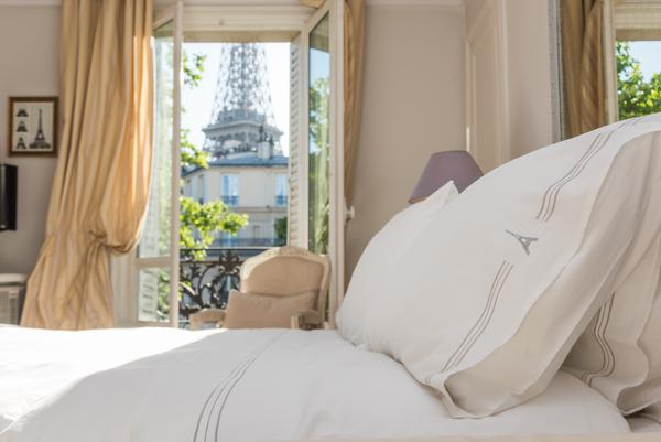 Eiffel Tower King Size Luxury Pillow Cases (Set of 2)