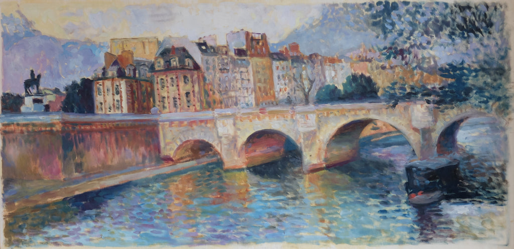Patrice Landauer:  The Grand Pont Neuf