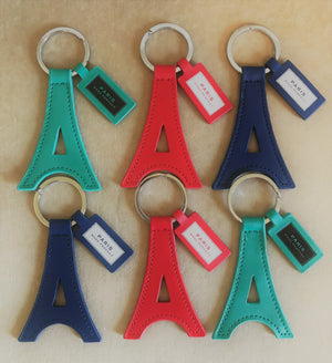 Paris Perfect Keyring - Navy