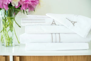 Eiffel Tower Luxury Full Sheet Set