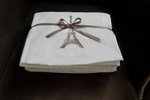 Eiffel Tower Queen Luxury Sheet Set