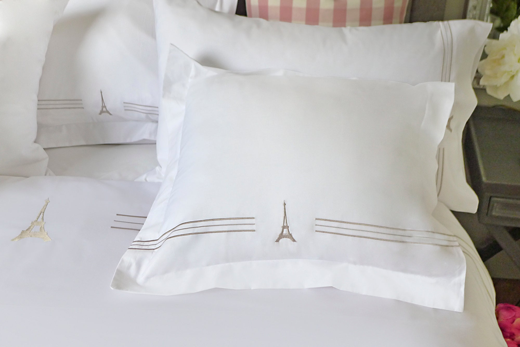 Eiffel Tower Square Throw Pillow Cover (1 pc.) 60% off!!! Usually $50, now only $19!