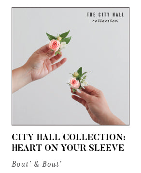 City Hall Collection Heart On Your Sleeve Bout and Bout