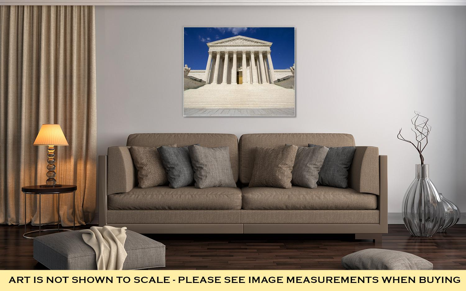 Gallery Wrapped Canvas, Washington DC Supreme Courthouse