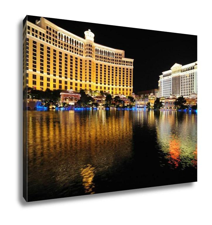 Gallery Wrapped Canvas, Las Vegas Bellagio Hotel and Casino