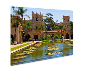 Metal Panel Print, Balboa Park In San Diego California