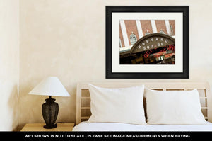 Framed Print, Harvard Square