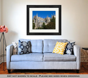 Framed Print, Duke University Chapel