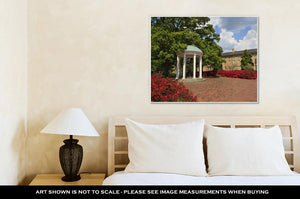 Gallery Wrapped Canvas, Old Well At Unc Chapel Hill