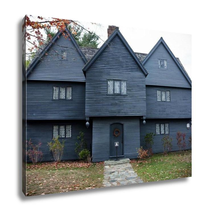 Gallery Wrapped Canvas, The Witch House Salem Massachusetts