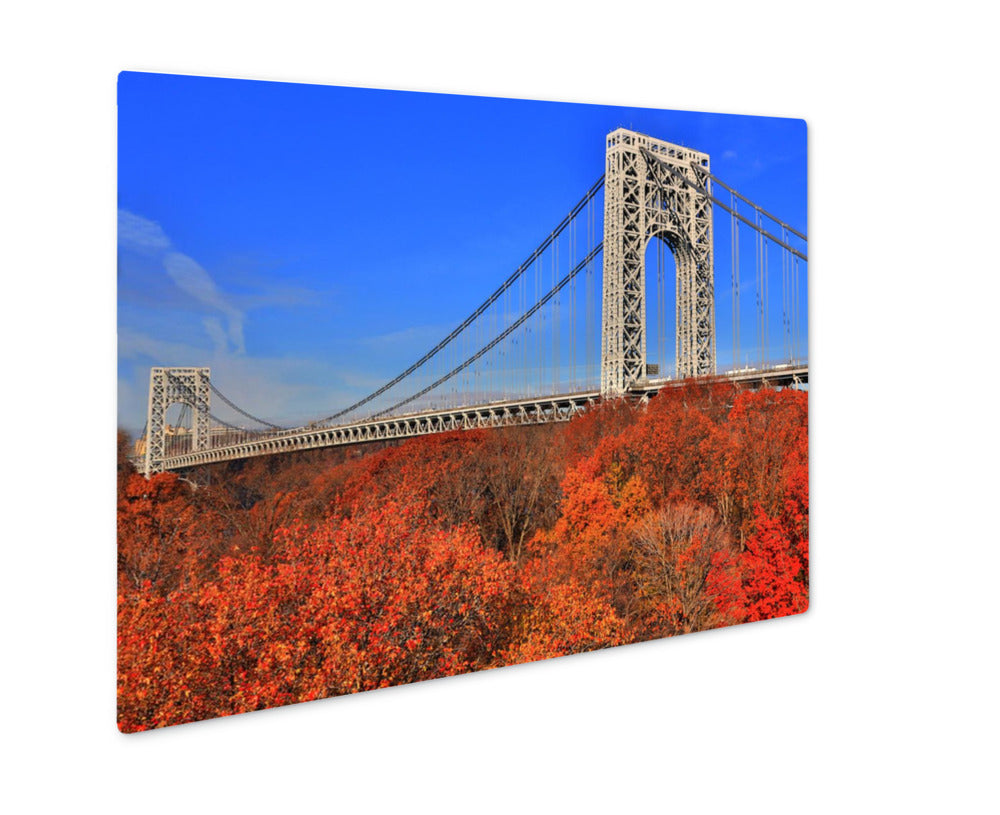 Metal Panel Print, George Washington Bridge