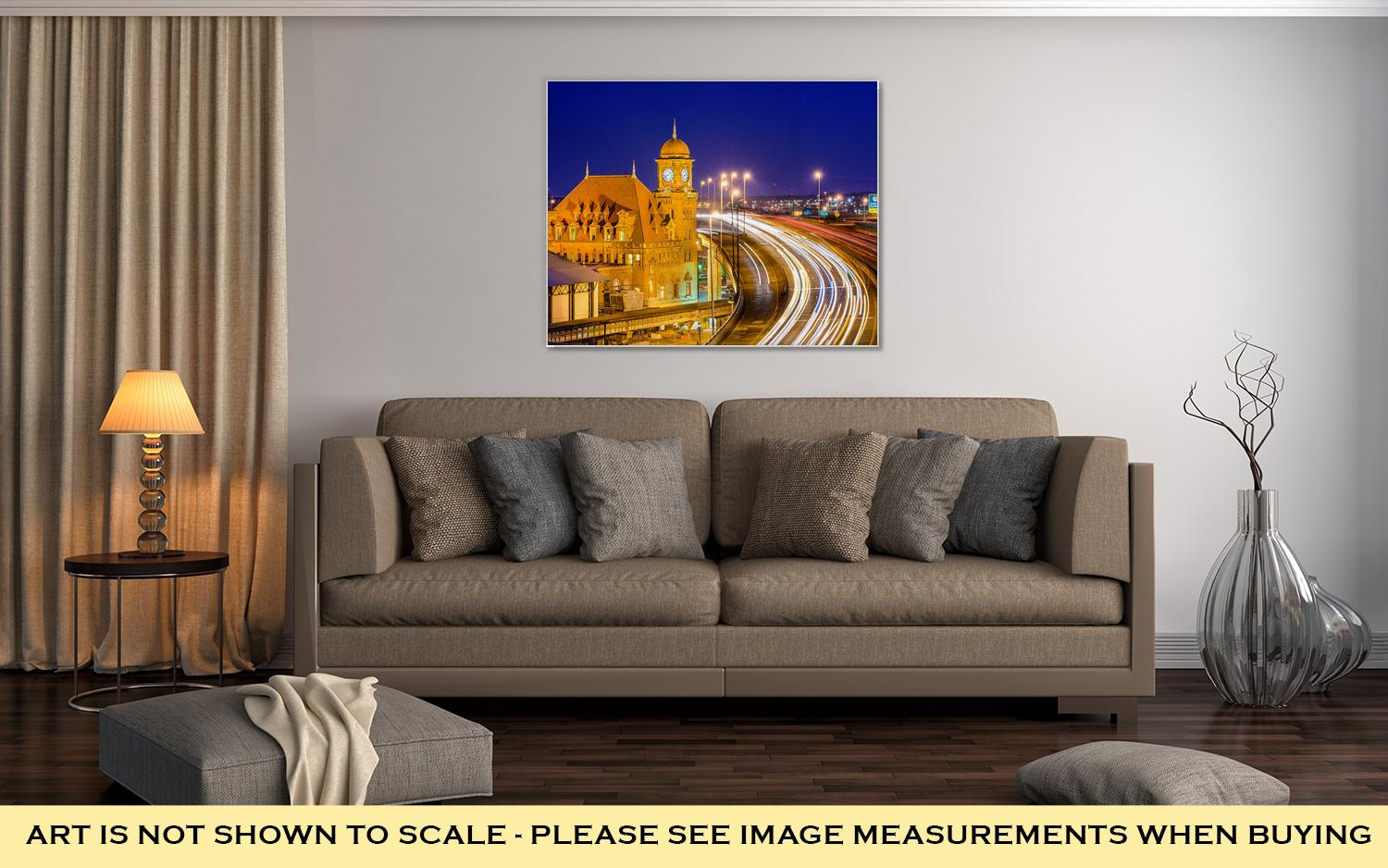 Gallery Wrapped Canvas, Richmond Virginia Old Main Station