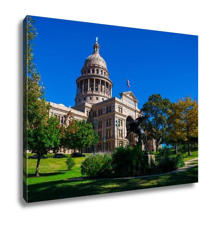 Gallery Wrapped Canvas, Texas State Capital Building Austin TX
