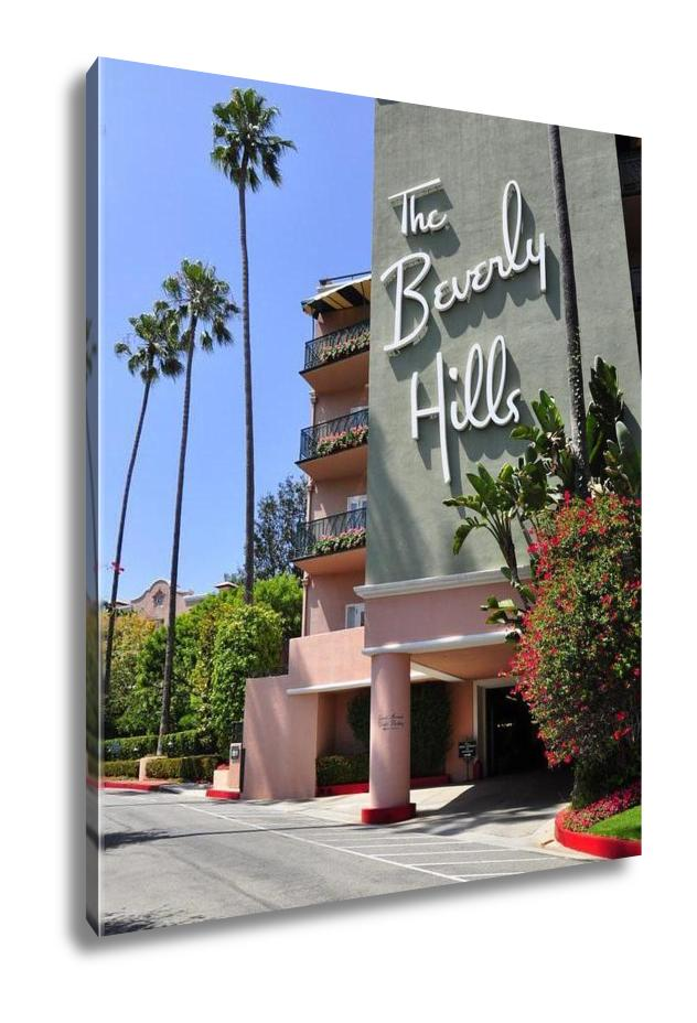 Gallery Wrapped Canvas, The Beverly Hills Hotel