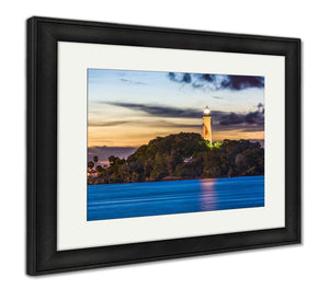 Framed Print, Jupiter Florida Lighthouse