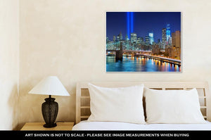 Gallery Wrapped Canvas, World Trade Center Memorial