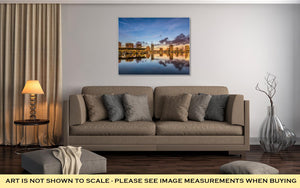 Gallery Wrapped Canvas, St. Petersburg Bay & Skyline, Florida