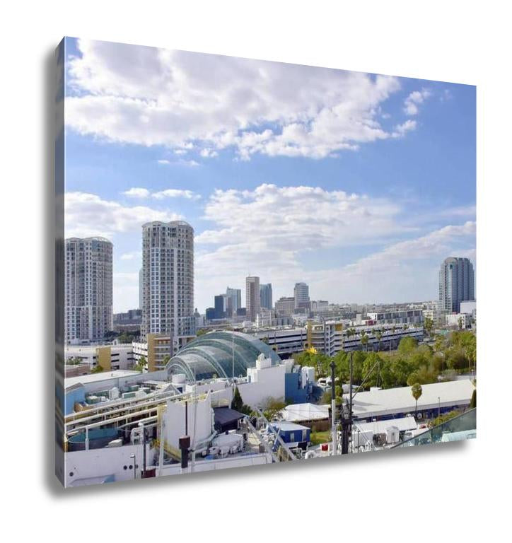 Gallery Wrapped Canvas, Tampa Florida Skyline