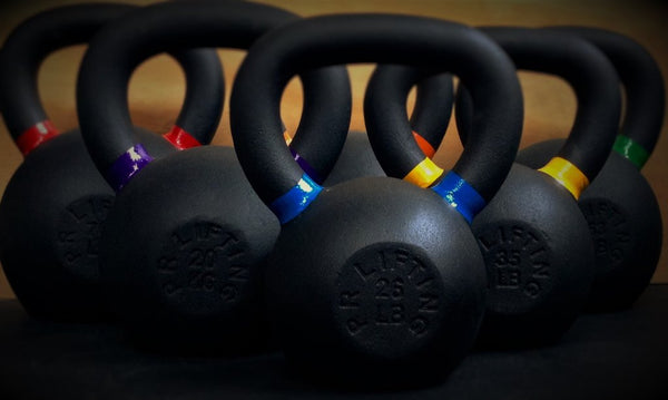 POWDER COAT KETTLEBELLS (INDIVIDUAL)