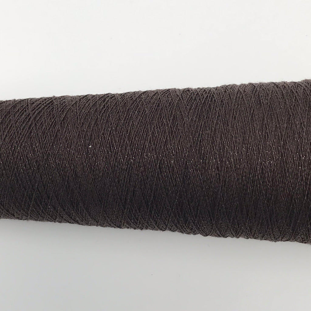 Silk Stainless Steel - 1/20 - Dark Brown - Fibre Maven & Va Va Valoom Handwoven