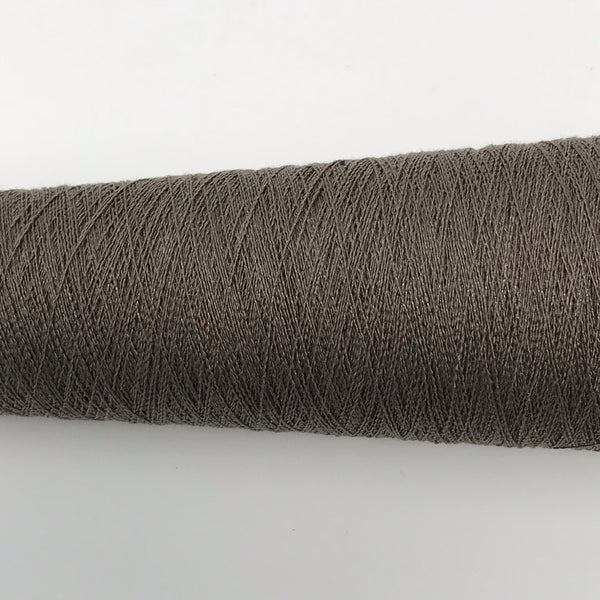 Silk Stainless Steel - 1/20 - Brown - Fibre Maven & Va Va Valoom Handwoven