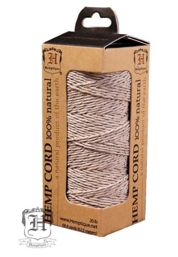 Metalic Hemp Cord