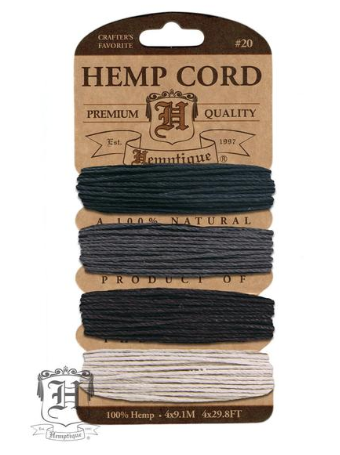 Hemp Cord Kit - Birds of a Feather - Fibre Maven & Va Va Valoom Handwoven