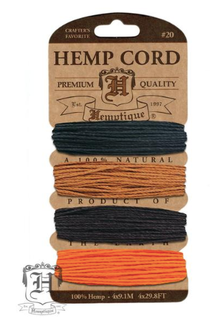 Hemp Cord Kit - Animal Den - Fibre Maven & Va Va Valoom Handwoven