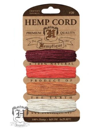 Hemp Cord Kit - Coral Reef