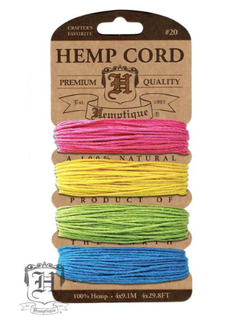 Hemp Cord Kit - Razzle Dazzle