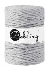 Premium Macramé Cord 5mm - Light Grey