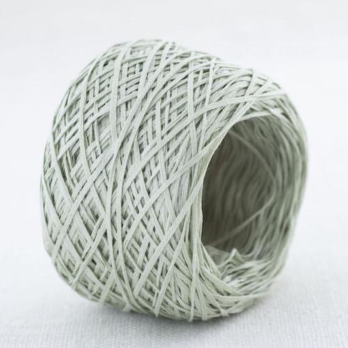Cotton Gima - Lace Weight - Grey Green